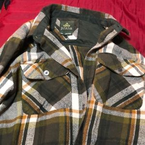 Men's prana flannel